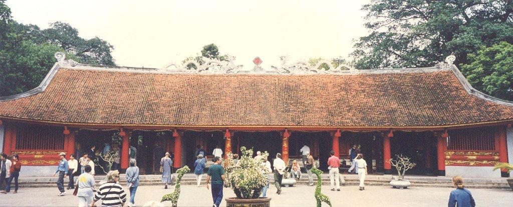 Vietnamda Kofüçyüs Tapınağı