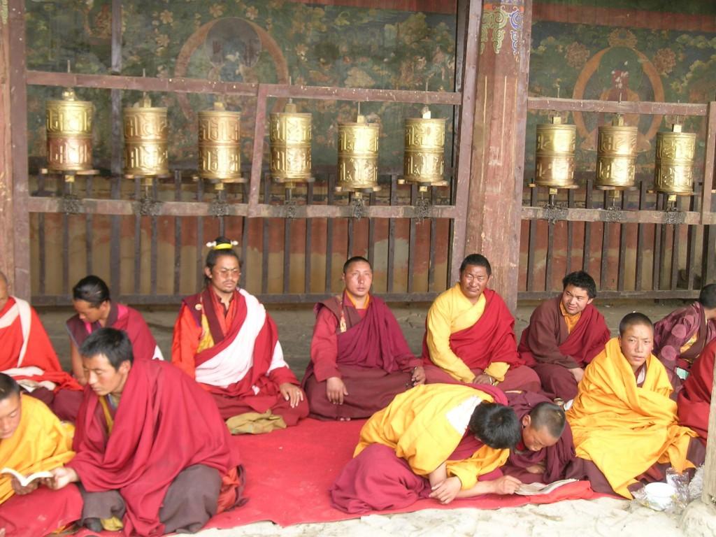 Budist Samye Manastırı'nda öğrenim, Tibet