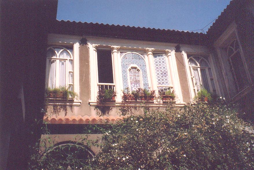 Eski Şam evlerinden iki örnek.