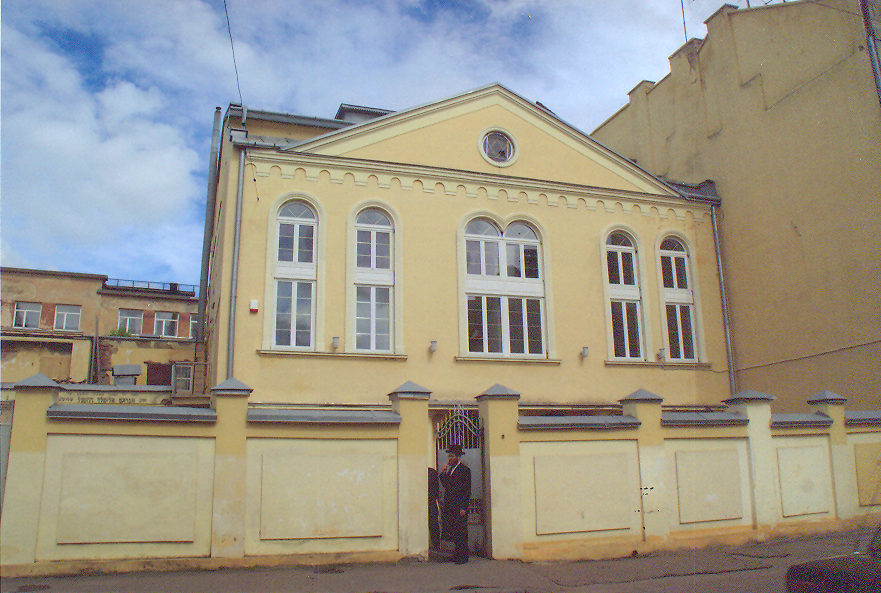 The Hasidic Synagogue in Lviv, Ukraine