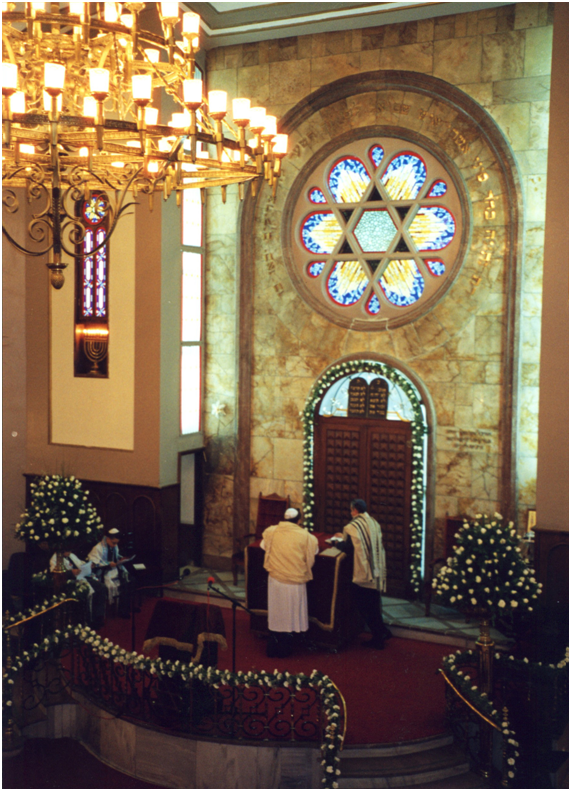 Turkey – Istanbul, Neve Shalom (Valley of Peace) Synagogue.