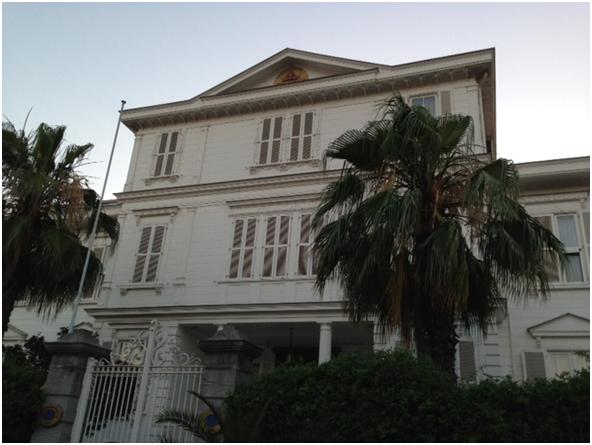 Ermeni Patrikhanesi binası