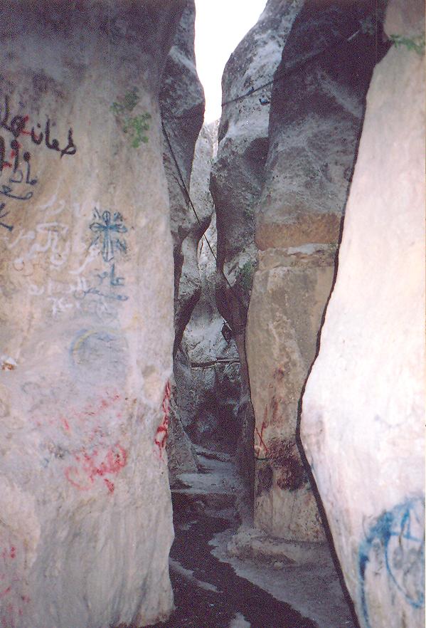 Aya Tekla Kanyonu, Tanrı'nın yardığı bir kanyon olarak kabul ediliyor.