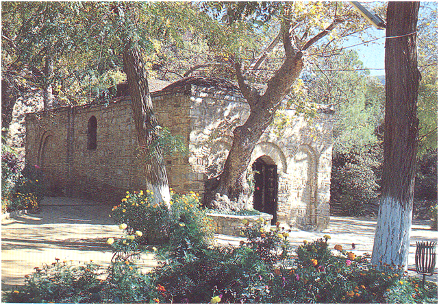 The House of the Virgin is believed to be the last residence of the Virgin Mary. According to predominant Christian tradition, Mary was brought to Ephesus by the Apostle John after the Resurrection of Christ and lived out her days there. This is based mainly on the traditional belief that John came to Ephesus combined with the biblical statement that Jesus consigned her to John's care (John 19:26-27). (For more: www.sacred-destinations.com/turkey/ephesus-house-of-the-virgin). House of the Virgin, Ephesus – Turkey.