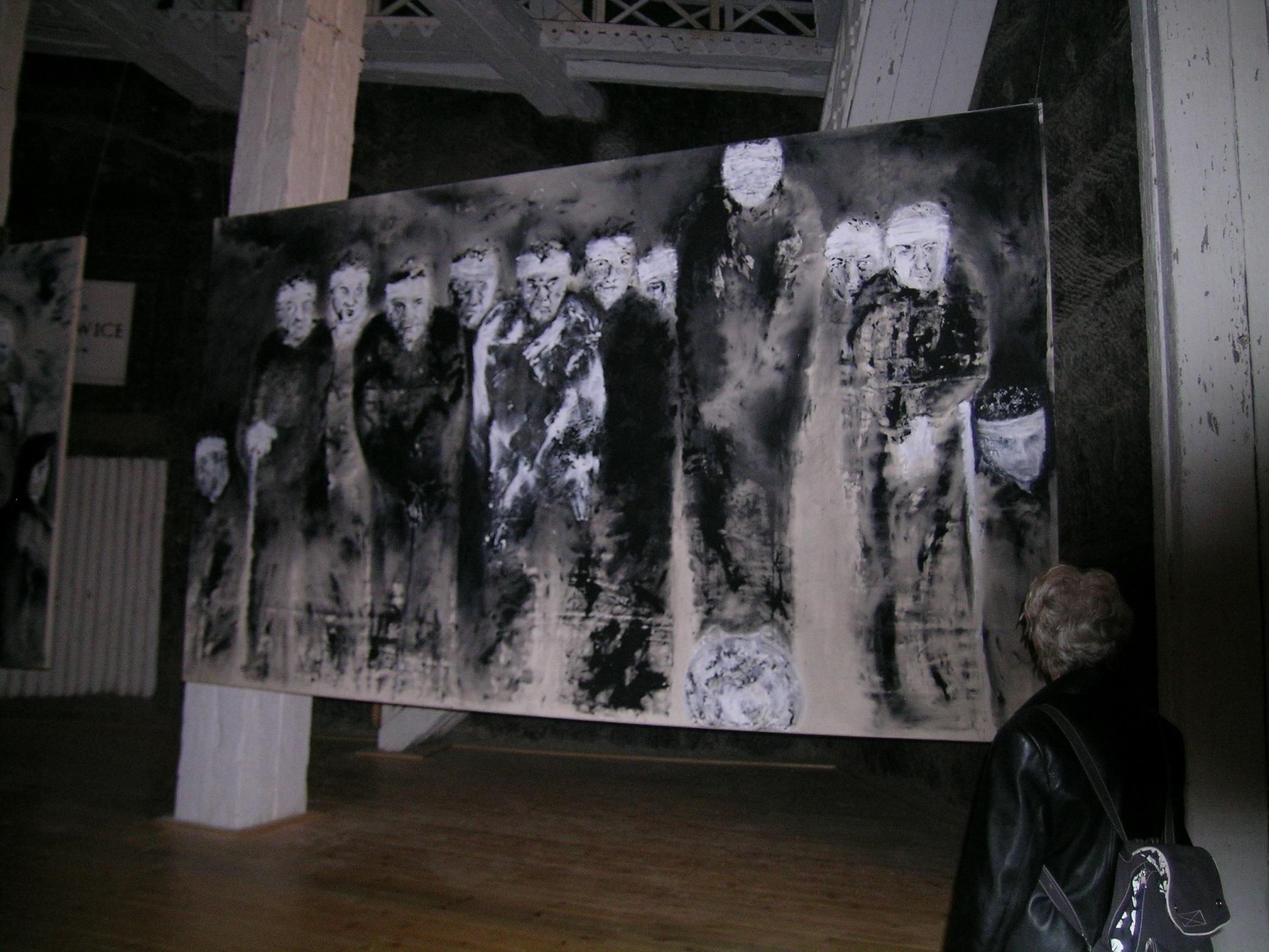Filmlerini ( Deep End, The Shout, Moonlighting, Essential Killing) beğendiğim Skolimowski'nin ressamlığından, tablolarını Krakov'u gezerken gittiğim Wieliczka Tuz Madeni'ndeki sergiyi görünce haberim oldu.