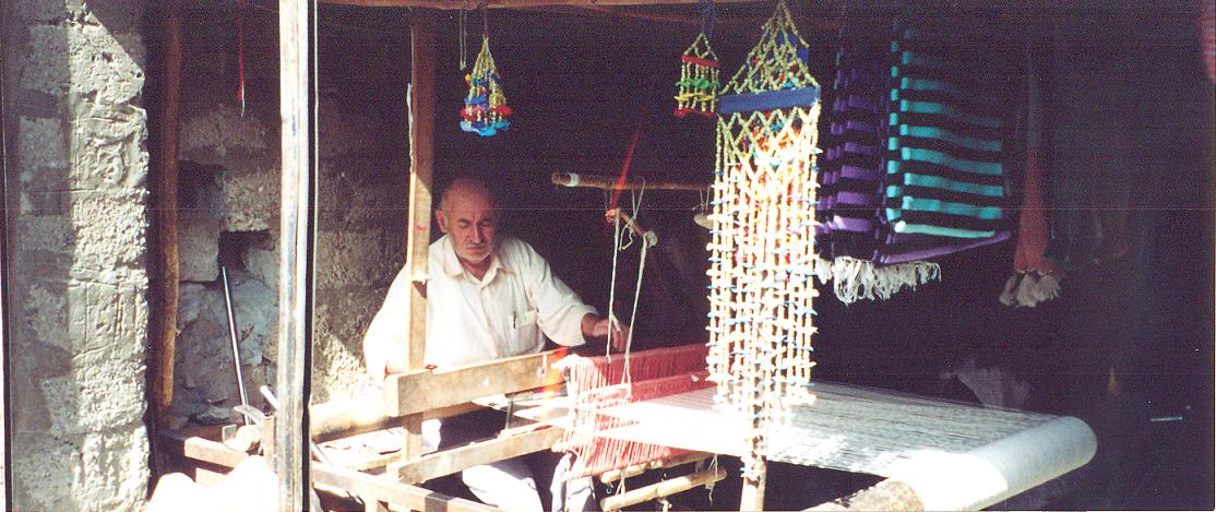 Dokumacı, Hasankeyf, 2003.