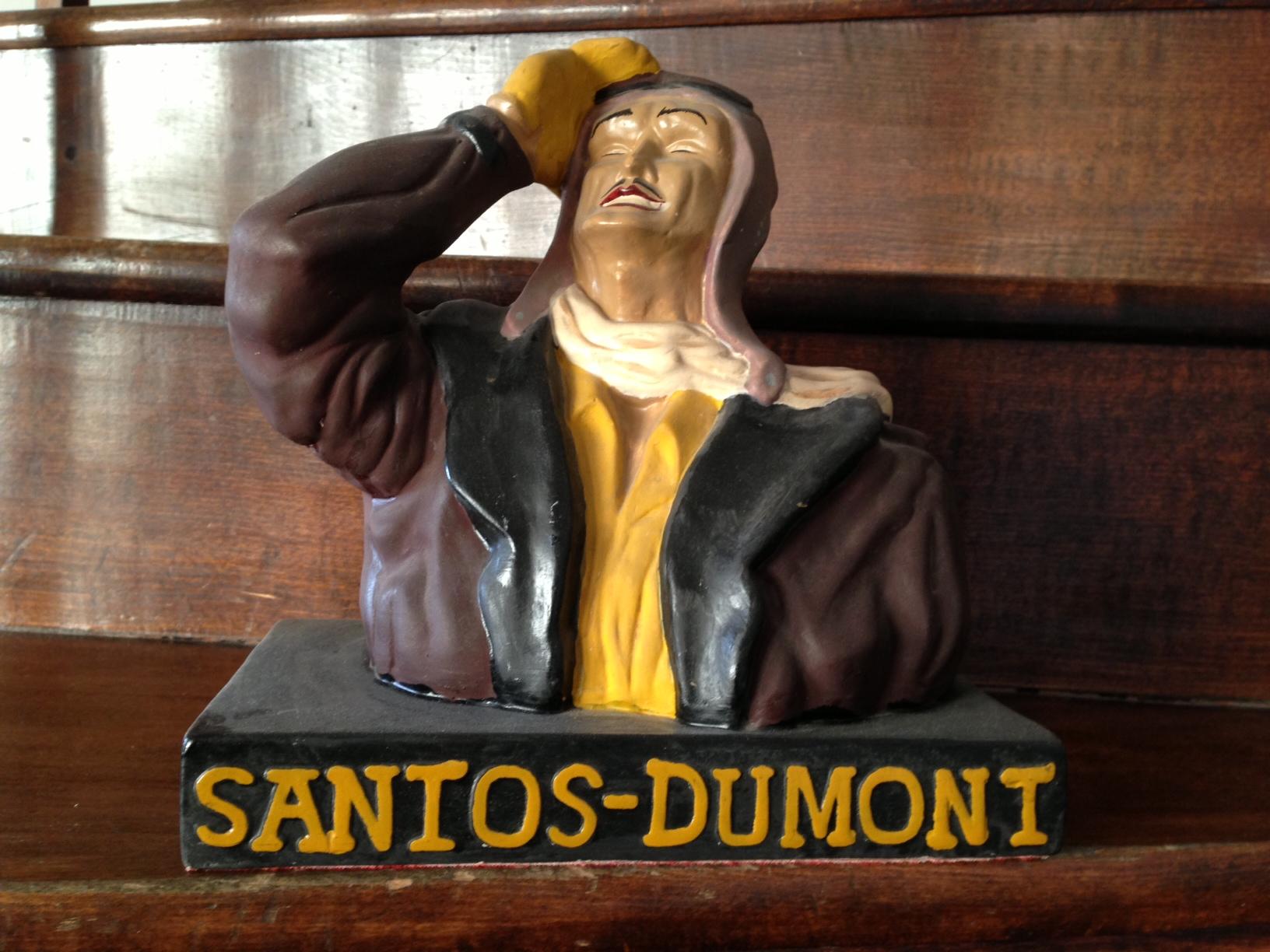 Evimizdeki Santos-Dumont.