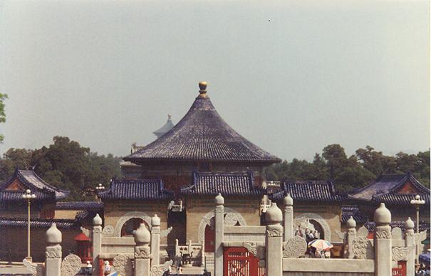 Beijing, Cennet Tapınağı, giriş.
