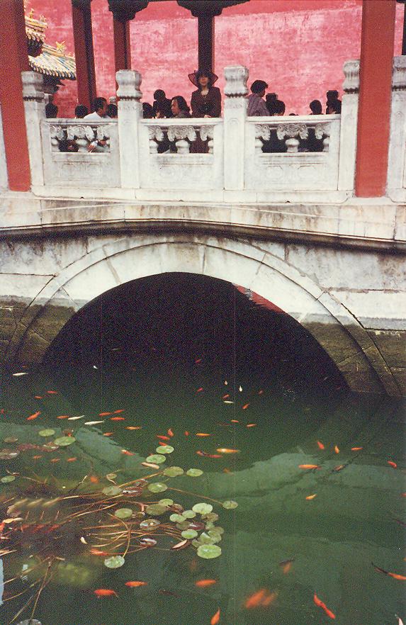 Beijing, Kraliyet Müzesi bahçesi.