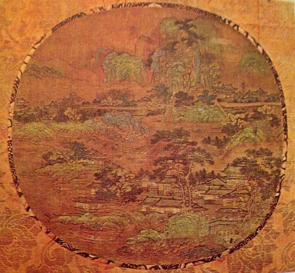 Güney Sung okuluna ait peysaj Güney Okulu'nun tüm özelliklerini barındıran bir tablodur.