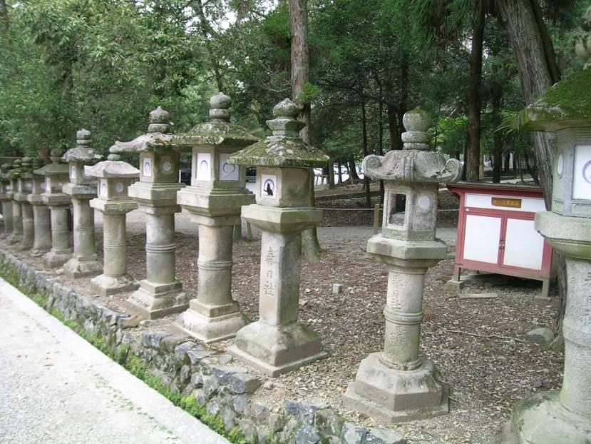 Fenerlerin, ruhların yolunu bulmasını sağladığına inanırlar. Fenerler çok çeşitli olabiliyor. Yukarıdaki fotoğrafta, UNESCO listesinde yer alan Kasuga Tapınağı girişinde 3000 taş ve bronz fener var. Burada yılda iki kez fener festivali yapılıyor. Fenerlerin üzerindeki kağıtlarda dualar yazılı.