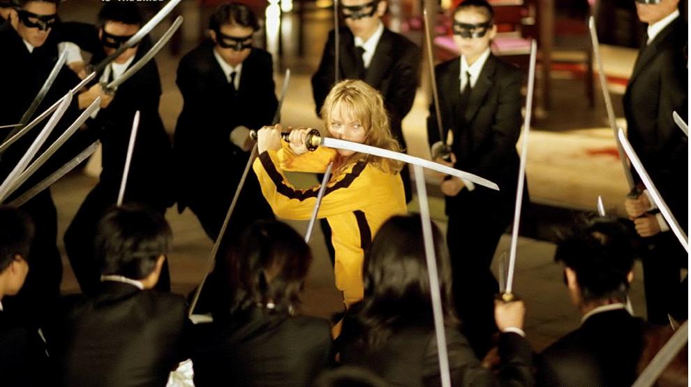Quentin Tarantino'nun Kill Bill I ve II filmlerinde ana karakterlerden biri Japon kılıcıdır.