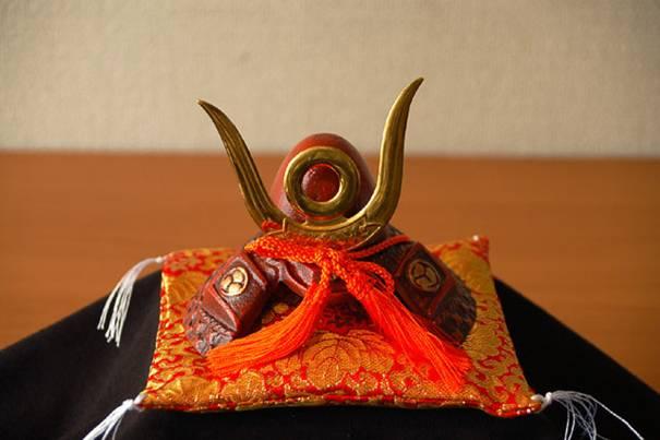 İeyasu Tokugava'nın samuray başlığı. Foto:ebay.