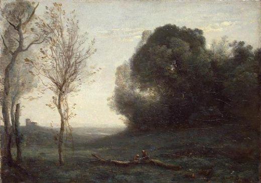Jean-Baptiste Camille Corot, Sabah.