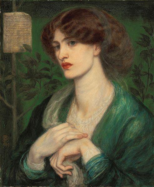 Danta Gabriel Rosetti, 1869, Beatrice.