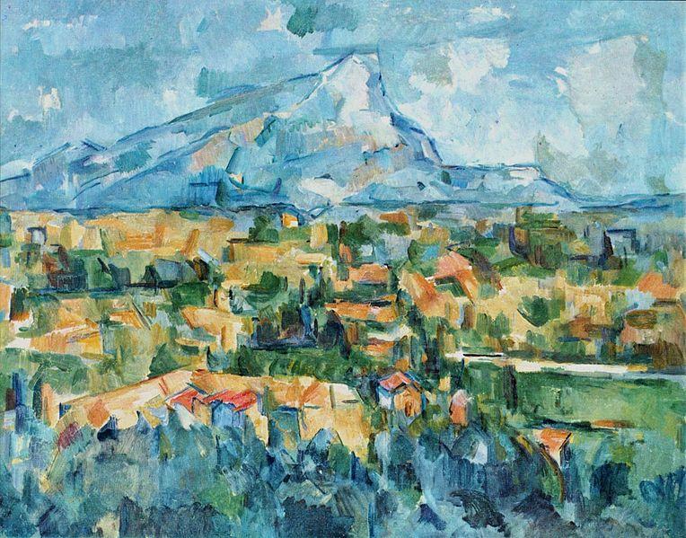 Cezanne, Mont Sainte-Victoire, 1904.