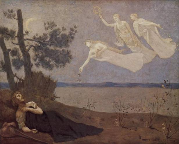 Rüya, Puvis de Chavannes, 1883. wikipedia.org.