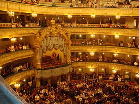 Temmuz 2000'de gittiğim Mariinski Tiyatrosu'nda Çar locası.