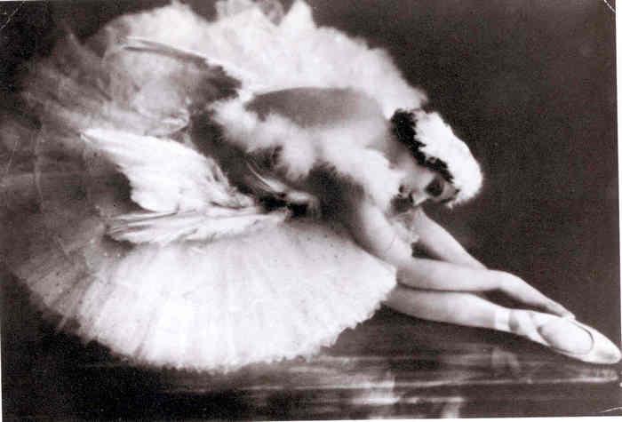 Anna Pavlovna Pavlova, Kuğunun Ölümü'nde. Foto:michaelminn.net
