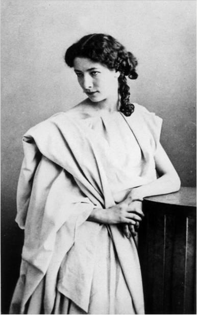Sarah Bernhardt. Fotoğraf:www.doctorpozzi.com