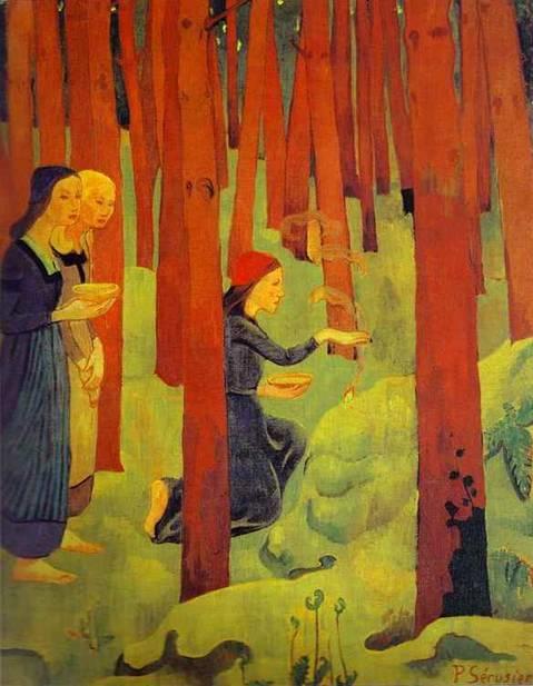 Kutsal Orman, Paul Sérusier, 1891. www.wikipaintings.org