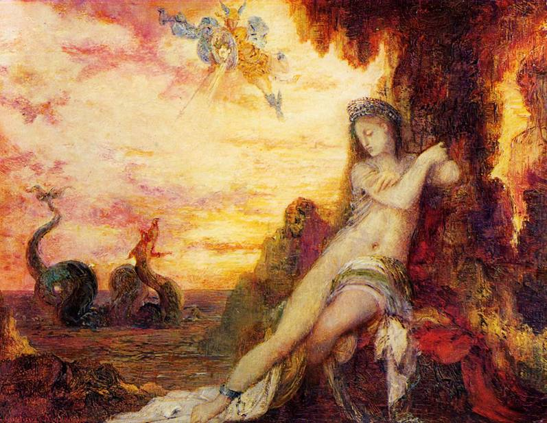 Gustave Moreau, Perseus ve Andromeda.