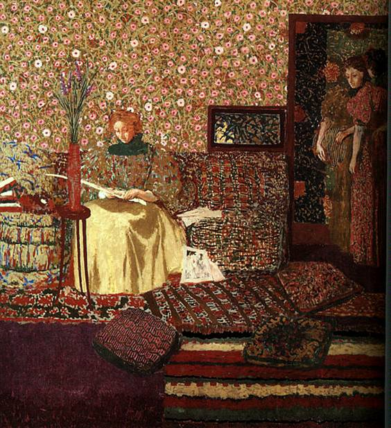 Edouard Vuillard, Okuyucu, 1896.