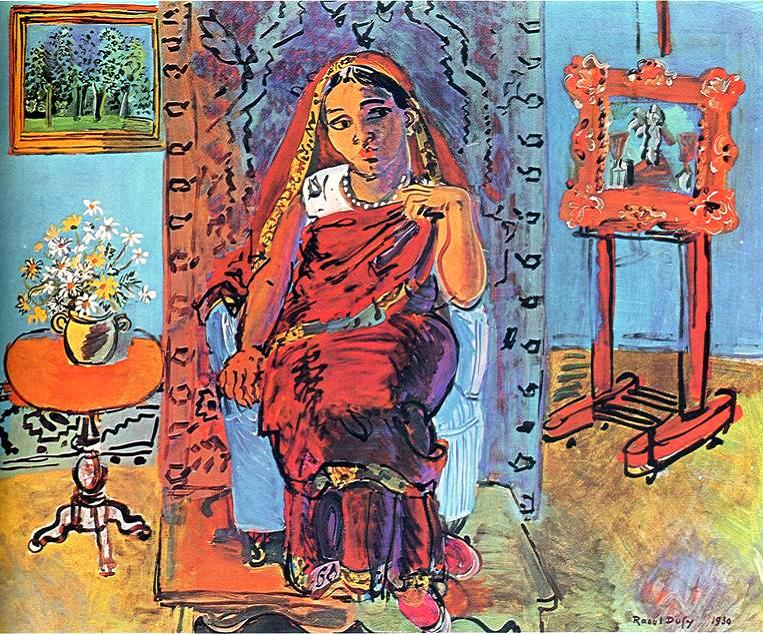 Raoul Dufy (1877-1953) pozitif Fovist.