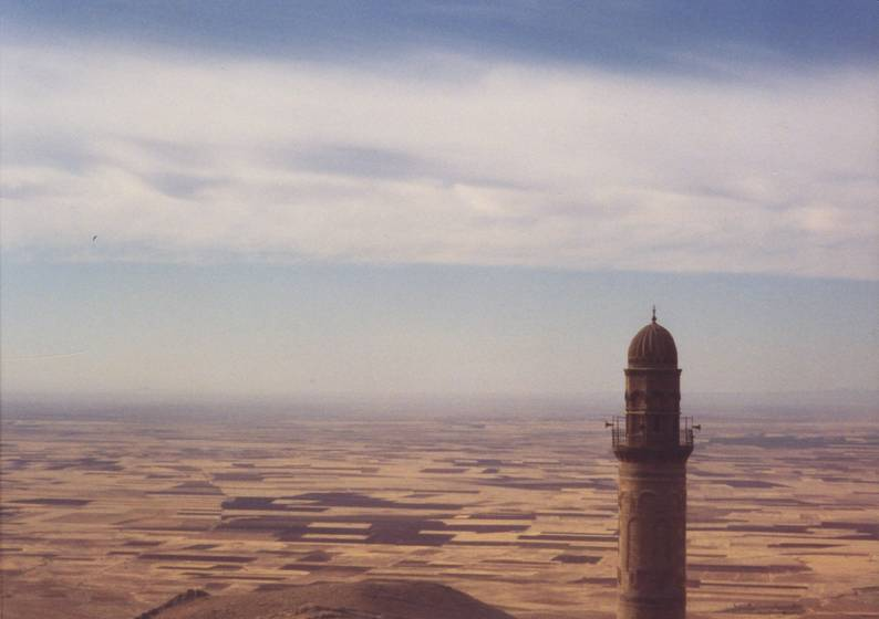 Turkey – Mardin. A minaret standing vigil over the city.
