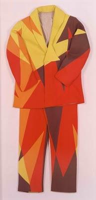 Giacomo Balla,'Futurist Suit', 1913-1918. Fotoğraf: centrefortheaestheticrevolution.blogspot.com