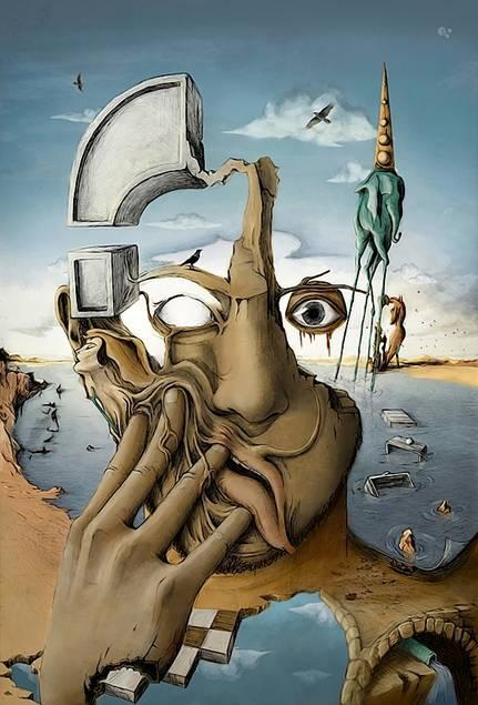 Salvador Dali. abduzeedo.com