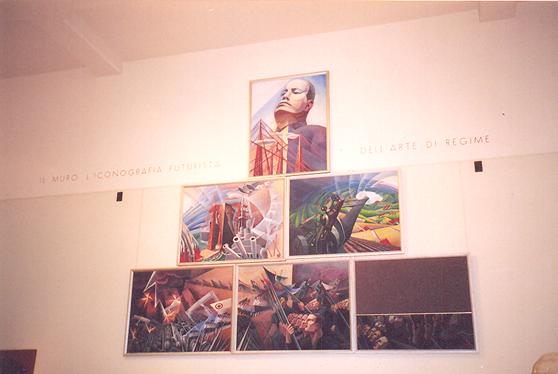 Modern Sanat Müzesi, Fütürist Salon, Roma.