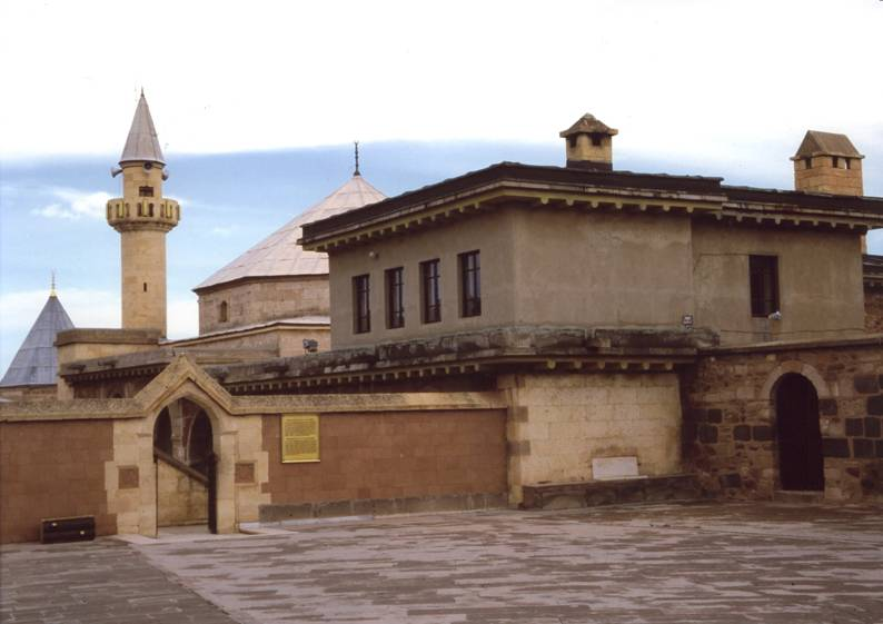 Turkey – Nevşehir, Town of Hadji Bektash, Dervish Lodge and Tomb of Hadji Bektash.