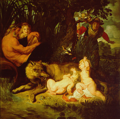 Romulus ve Remus'u Emziren Dişi Kurt, Peter Paul Rubens, 1614-16. Fotoğraf: wikipedia.org