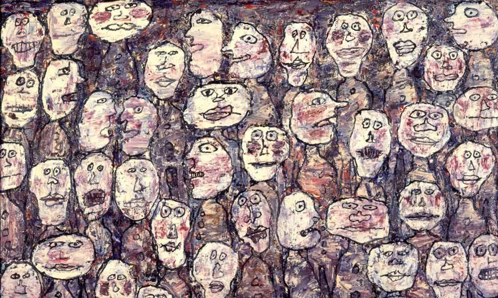 Jean Dubuffet, Affluence (Attendance), 1961. Fotoğraf: pallant.org.uk