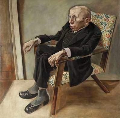 George Grosz (1893-1959), Yazar Max Herrmann-Neisse, 1925. Weimar Cumhuriyeti'nin toplumsal bozukluklarını sergilemek ve faşizm tehlikesine karşı uyarılarda bulunmak için çizdi. İngiliz karşıtı propagandayı protesto etmek amacıyla Georg olan ilk adını George olarak İngilizleştirdi. Burjuva sanat anlayışına karşı savaşan Dada Kulübünü kurdu. l924' te kamu ahlakına saldırıda bulunmaktan dolayı para cezasına çarptırıldı. Fotoğraf:www.huma3.com