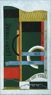 Stuart Davis, Lucky Strike, 1921.