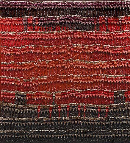 Şefin Battaniyesi, Arman, 1989. Stili, Yeni Gerçekçi; janrı soyut. Fotoğraf:wikiart.org
