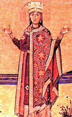 Azize Pulcheria. Fotoğraf:saints.sqpn.com