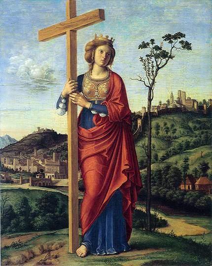 Konstantinopolisli Helena, Giovanni Battista Cima de Cornegliano (1459/60-1517/18). Fotoğraf:tr.wikipedia.org
