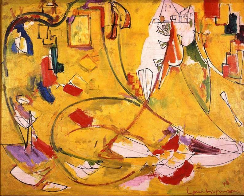 Hans Hofmann (1880-1966), Provincetown House, 1940. Fotoğraf:pictify.com