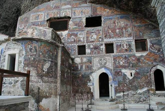 Ana kilisenin genel görünüşü. Fotoğraf:www.haldundomac.com