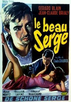 Yakışıklı Serge'in afişi. Fotoğraf:www.tersninja.com