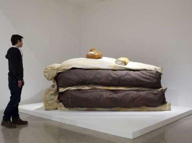 New York'ta MOMA'da sergilenen 1962 yılı eseri bir yumuşak heykel. Fotoğraf:www.southwestjournal.com