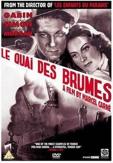 Marcel Carné'nin 1938 ürünü Sisler Rıhtımı filminin afişi. Fotoğraf:tr.wikipedia.org