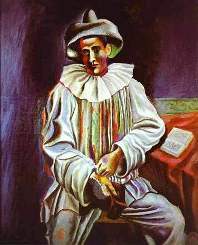 Godard'ın Çılgın Pierrot adlı filminde duvarda Picasso'nun Pierrot tablosu asılıdır. Pierrot, Pablo Picasso, 1918. The Museum of Modern Arts, New York. Fotoğraf:www.grafiksaati.com