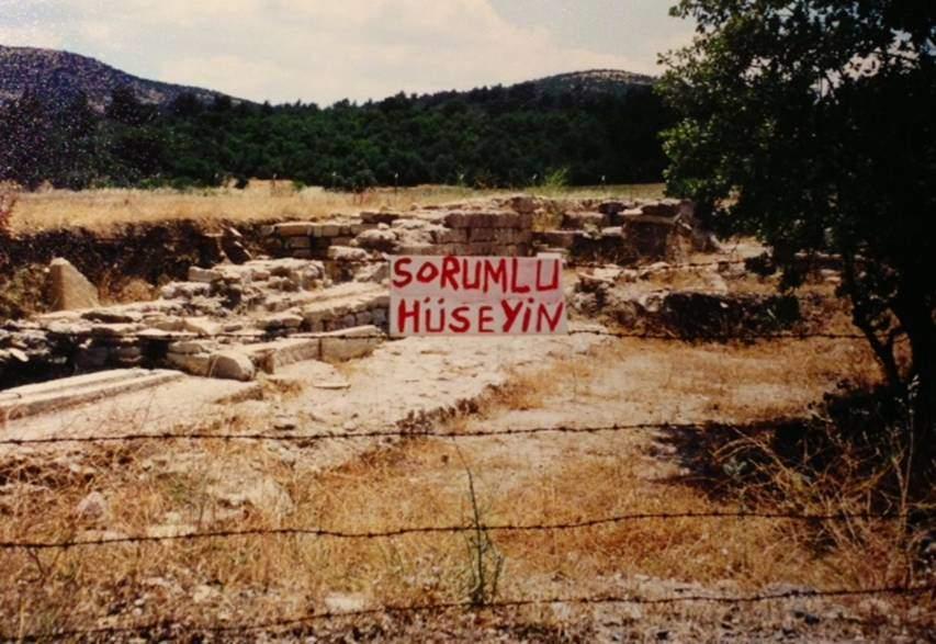 Paşaköylü Hüseyin Şengül, bir antik mirasın daha yok olmaması için tek başına 5000 imza toplamıştı.