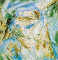 Blue Rayonizm, Mihael Larionov, 1913. Fotoğraf:www.russianpaintings.net