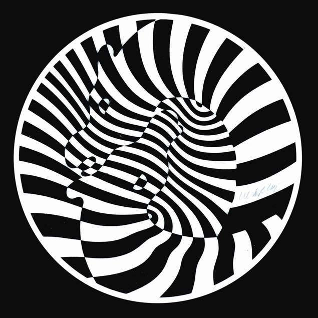 Zebra, Victor Vasarely. Fotoğraf:www.parkwestgallery.com