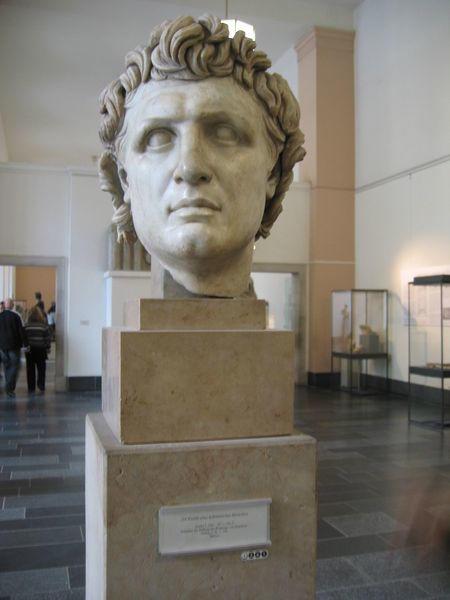 Pergamon Kralı I. Attalos'un Helenistik büstü. Pergamonmuseum, Berlin. Fotoğraf:commons.wikimedia.org